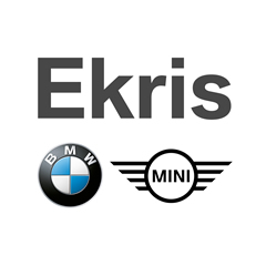 Logo vierkant Ekris BMW en MINI